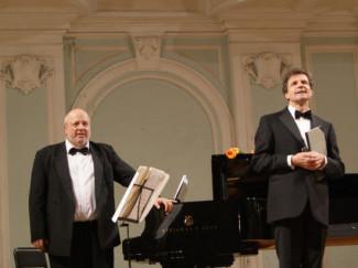 Пианист Виктор Ямпольский и баритон Вольфганг Хольцмайер