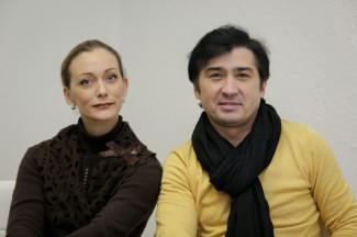 Инна Гинкевич и Айдар Ахметов. Фото - Антон Балашов / PrimaMedia