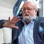 """Кшиштоф Пендерецкий: """"Надеюсь закончить Шестую симфонию за пару лет"""""""