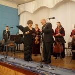 Поздравление губернатора Владимира Печеного. Фото: Мария Золотарева, MagadanMedia