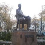 Памятник Рахманинову в Москву на Страстном бульваре