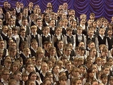 Участники Сводного детского хора России прибыли в Москву