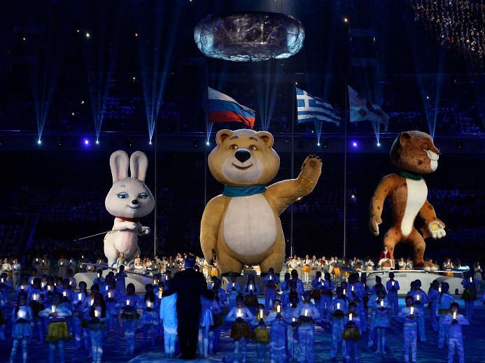 Закрытие Олимпиады в Сочи