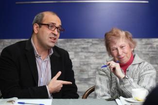 Георгий Исаакян и Роксана Сац