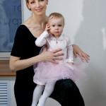 Илзе Лиепа с дочерью Надеждой