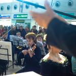В днепропетровском аэропорту звучал гимн ЕС