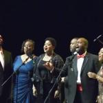 В Красноярске впервые выступил коллектив афроамериканских вокалистов