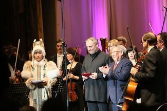 Валерий Гергиев был удостоен почетного знака «За укрепление мира и дружбы народов!»