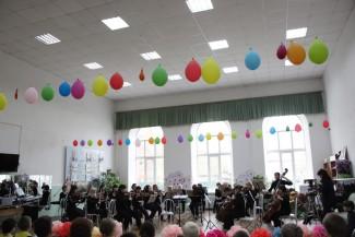 Оркестр Краснодарского музтеатра провел концерт для слепых детей