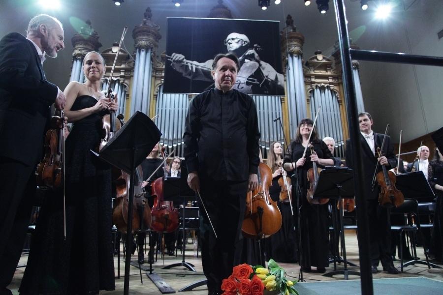 Михаил Плетнев и РНО. Фото - Александр Гайдук