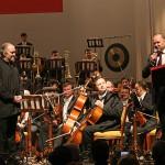 участников концерта приветствует губернатор Николай Цуканов