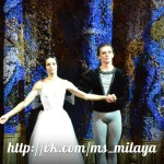 Балет «Жизель». На сцене – Диана Вишнева и Сергей Полунин
