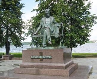 Памятник П.И. Чайковскому в Воткинске