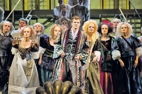 Постановка оперы «Школа жен» в театре «Новая опера»