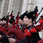 В Петербурге прошел концерт Королевского оркестра волынщиков из Галисии