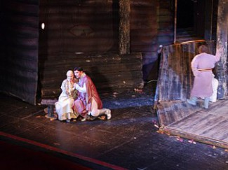 На Собиновском фестивале показали одну из первых опер, ставившихся на саратовской сцене