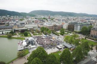 В 62-й раз в Бергене проходит крупнейший в Норвегии фестиваль искусств