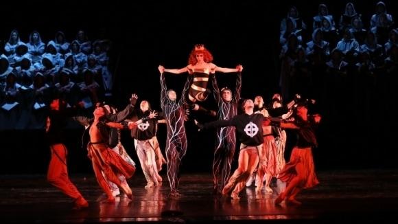 "Балет ""Кармина Бурана"". Фото - пресс-служба фестиваля"