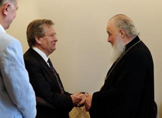 Владимир Федосеев и патриарх Кирилл