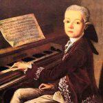 Девятилетний Моцарт во время пребывания в Лондоне 1764-1765
