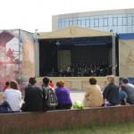 Концерт на открытом воздухе в Сургуте