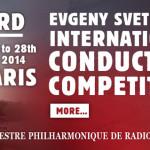 Третий Международный конкурс дирижеров имени Евгения Светланова открывается в Париже
