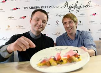 Солист Большого театра, Заслуженный артист России Андрей Меркурьев, обзавелся десертом имени себя