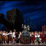 В Астане труппа миланского «Ла Скала» в 100 человек дала «Дон Кихота»