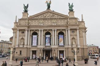 Оперный театр во Львове
