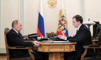 Президент России встретился с Владимиром Мединским