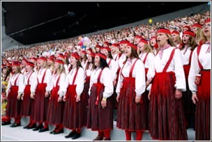 Певческий праздник в Эстонии