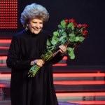 Народная артистка СССР Елена Образцова принимает поздравления с юбилеем