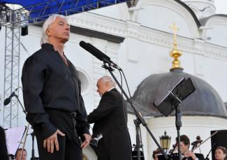 Дмитрий Хворостовский на фестивале «Лето в Тобольском Кремле»