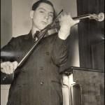 Исаак Стерн в молодости