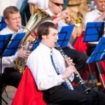 В Александровском саду прошли выступления духовых оркестров