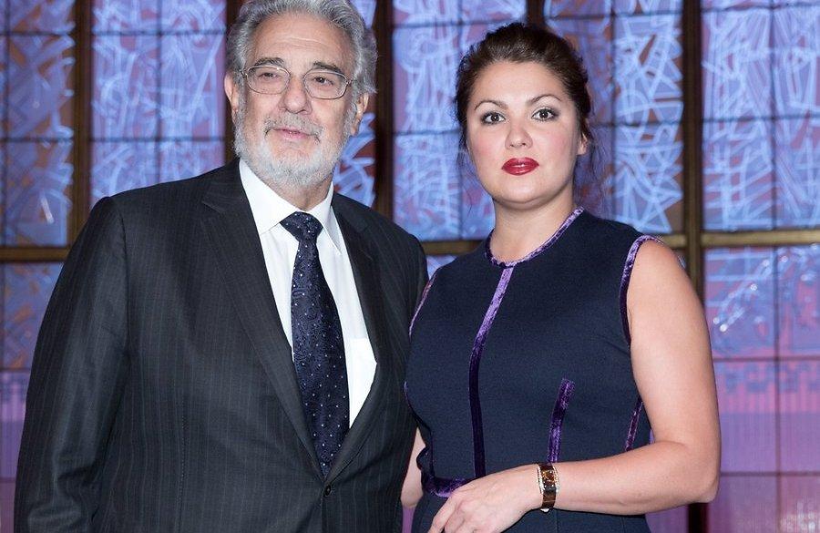 Пласидо Доминго и Анна Нетребко