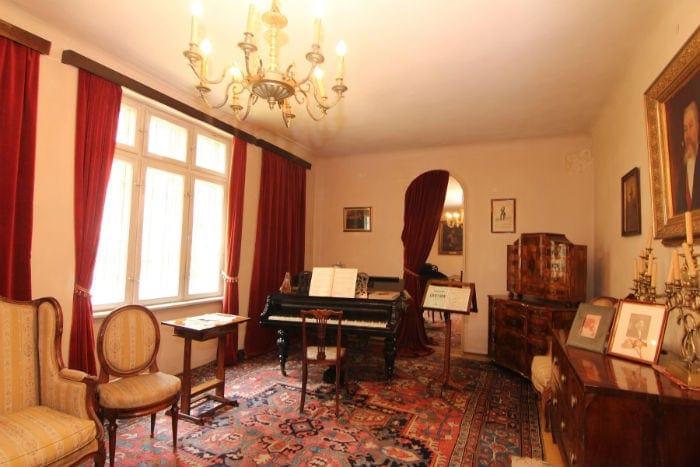 Мемориальная квартира Джордже Энеску в городе Синая (Румыния)