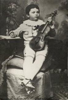 Джордже Энеску в детстве