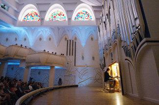 В Белгородской филармонии открылся четвёртый органный сезон. Фото - Антона Черев