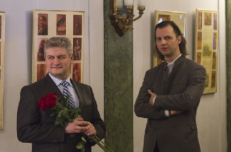 Андрей Агишев и Теодор Курентзис. Фото - Дмитрий Санин
