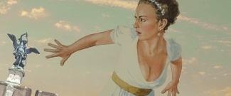 Эскиз Кристине Юрьяне к постановке оперы Пуччини «Тоска» в Берлинской опере