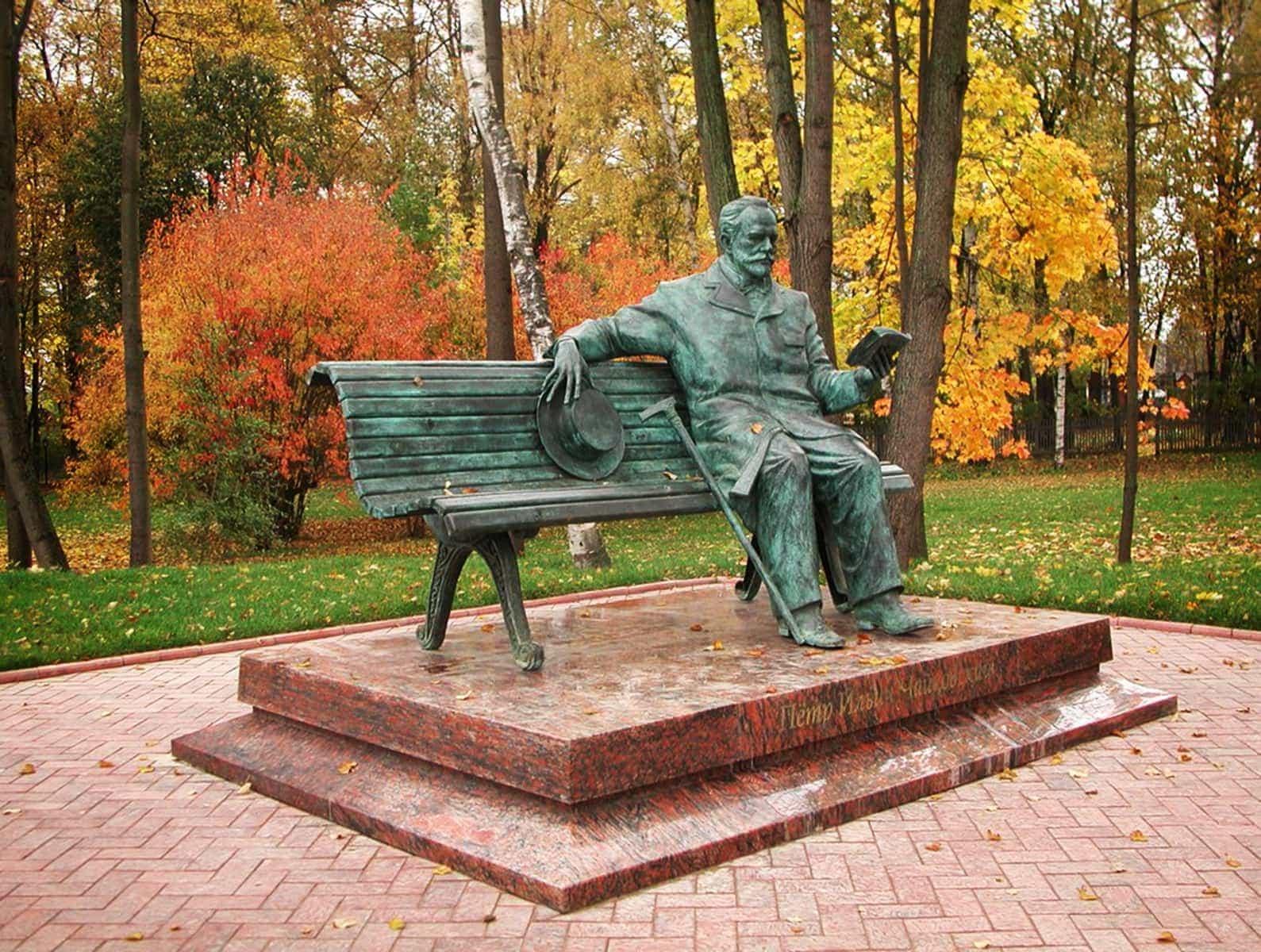 Памятник П.И. Чайковскому в Клину