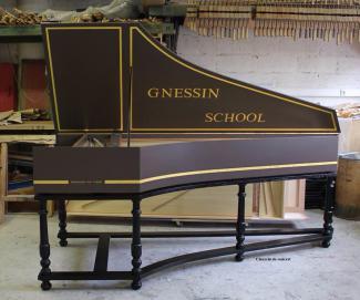 Клавесин Reinhard von Nagel для Гнесинской школы
