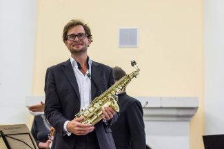 Саксофонист из Норвегии Ула Рокконес. Фото - Оксана Джалилова
