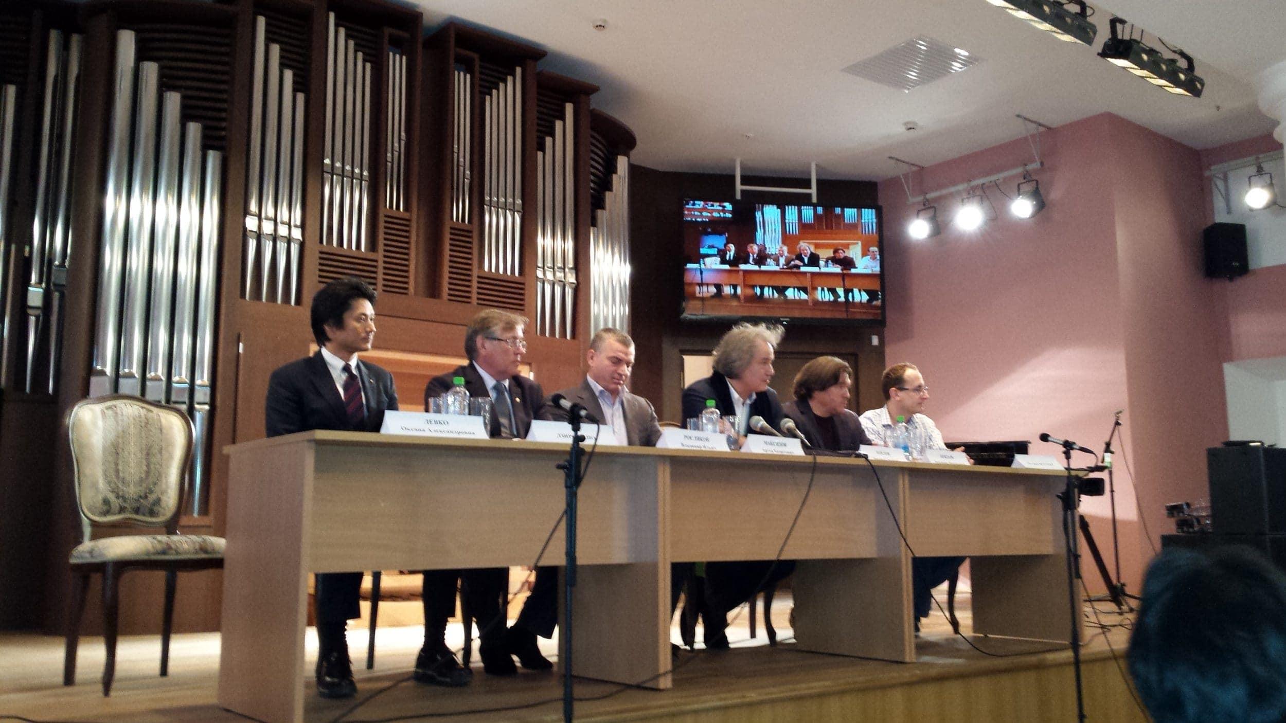 Пресс-конференция, посвященная открытию МССМШ им. Гнесиных после реконструкции
