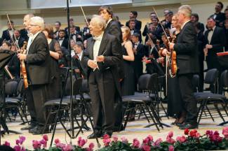 Маэстро Альберто Зедда, оркестр РНО