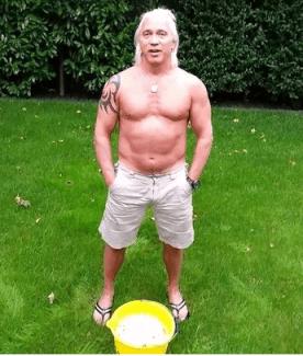 "Дмитрий Хворостовский в флешмобе ""Ice Bucket Challenge"""