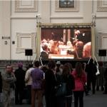У Минской Ратуши состоялась первая в Беларуси живая трансляция симфонического концерта