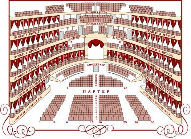 Посещать Большой театр по