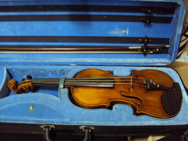 Скрипка работы Тимофея Подгорного